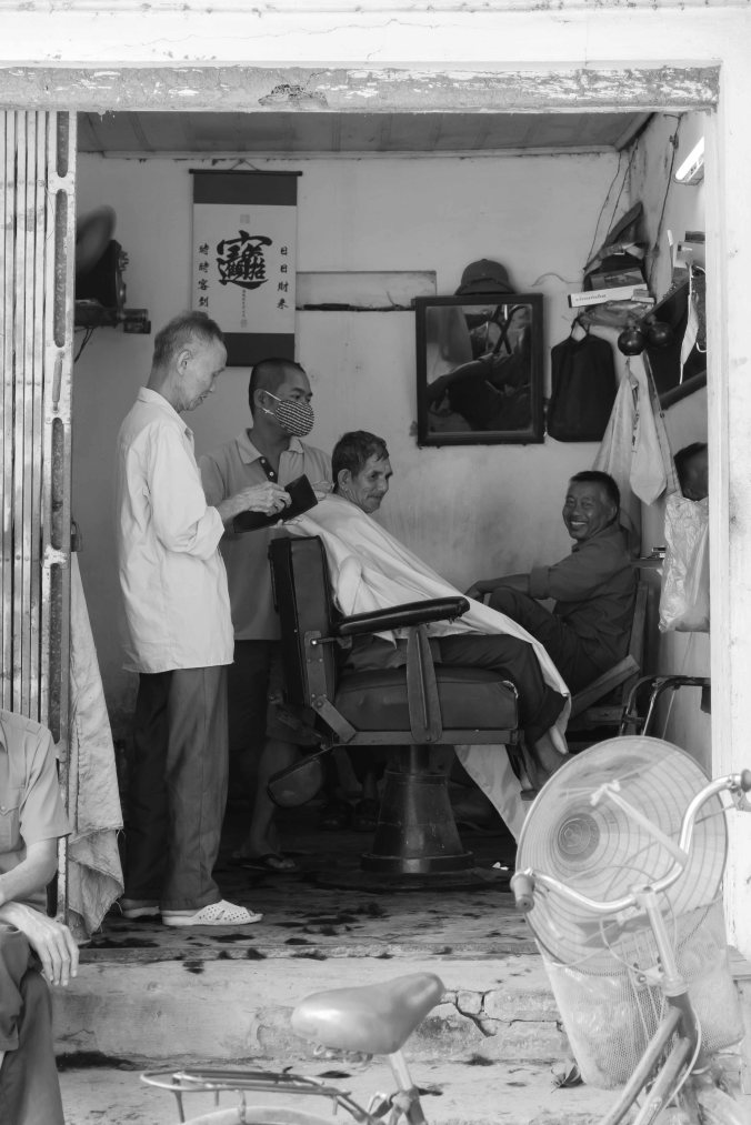 Barber in Vietnam
