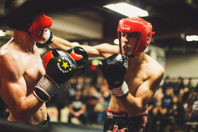 Writer In Malaysia: Two men boxing
