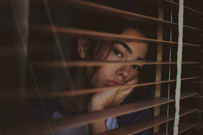 Writer In Malaysia: Girl behind blinds