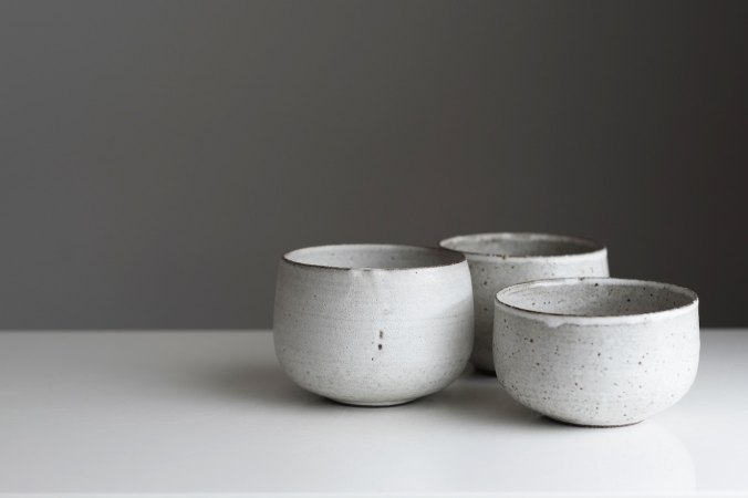 Imperfect clay cups